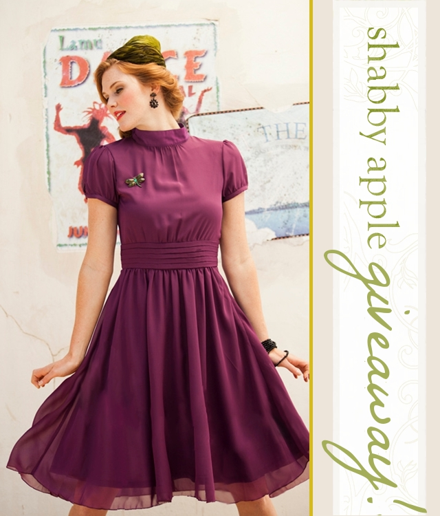 439d521fdc5 Shabby Apple Giveaway! Vintage Inspired Dresses - The Flourishing Abode