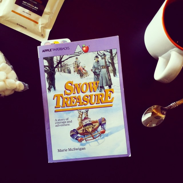 Snow Treasure - February Read Aloud Book