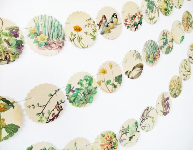Spring decor from Peony & Thistle